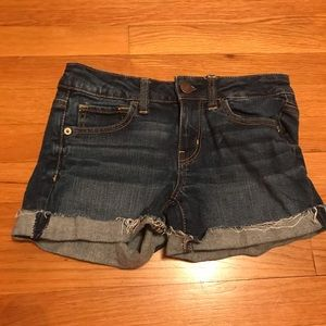 American Eagle size 0 jean shorts